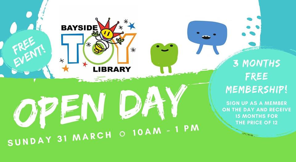 Open Day – Sunday 31 March 2019