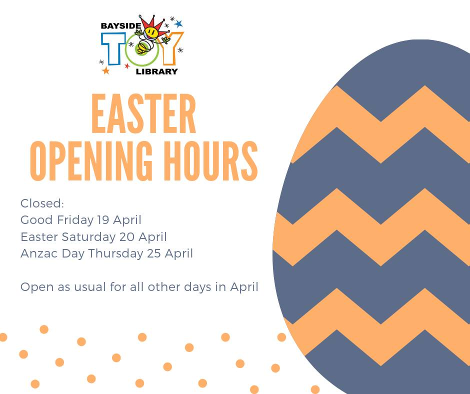 Easter 2019 Opening Hours