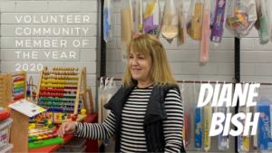 Diane Bish Volunteer Community Member of the Year 2020 Toy Libraries Australia