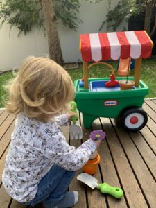 Heidi Wheelbarrow Little Tikes Activity Toy Bayside Toy Library