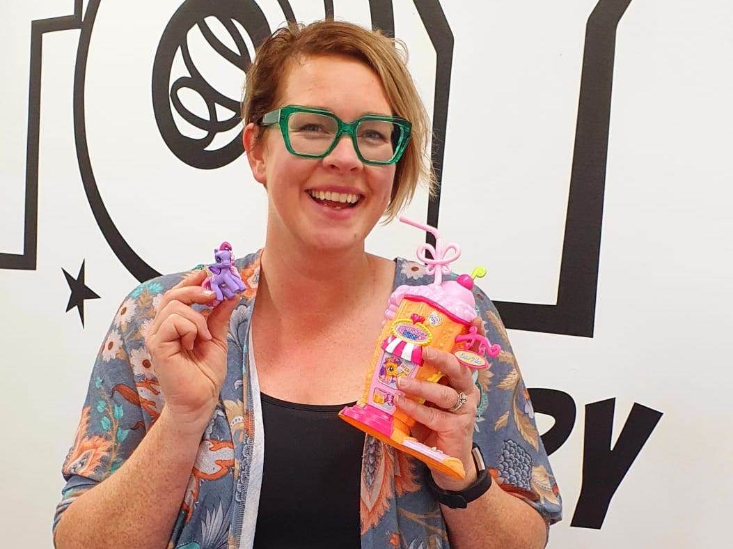Welcome Sally, our toy library wizard!