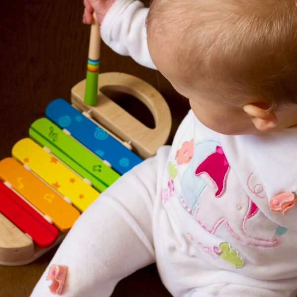 Infant toys for sensory development