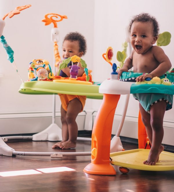 Infant toys to help with crawling, standing and walking