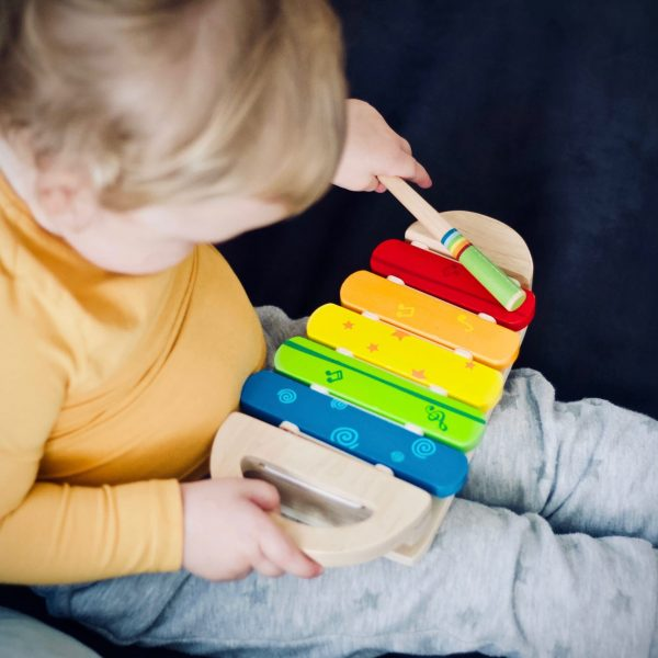 Music toys for physical development