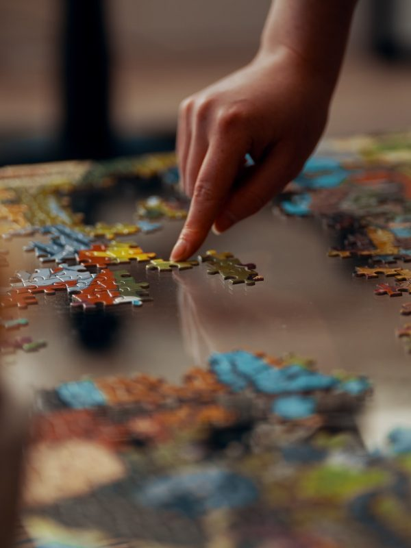 Puzzles and mental development