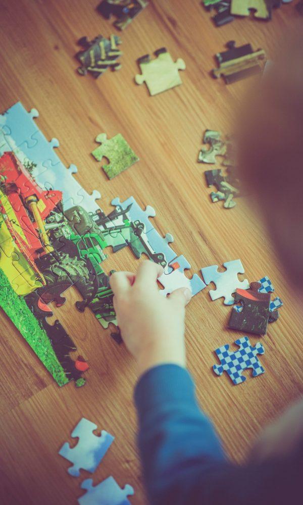 Puzzles as kids grow